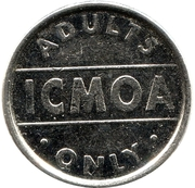 Token - ICMOA – obverse