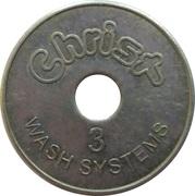 Car Wash Token - Christ Wash Systems (3) – obverse