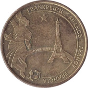 Token - 2006 FIFA World Cup (France) – obverse