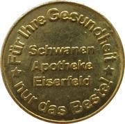 Schwanen Taler - Schwanen Apotheke (Eiserfeld) – obverse
