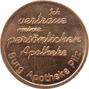 Pharmacy Token - Burg Apotheke (Pilz) – reverse