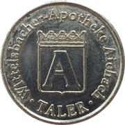 A Taler - Wittelsbacher Apotheke (Aichach) – reverse