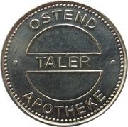 Taler - Ostend Apotheke & Schwalbanger Apotheke – obverse