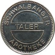 Taler - Ostend Apotheke & Schwalbanger Apotheke – reverse