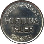 Fortuna Taler - Fortuna Apotheke (Ennepetal) – reverse