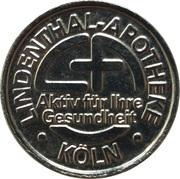 Linden Taler - Lindenthal Apotheke (Köln) – obverse