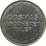 Cosmas Apotheke Taler - Cosmas Apotheke (Dillingen) – obverse