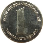 1 Taler - Europa Apotheke (Düsseldorf) – reverse