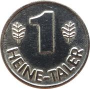 1 Heine-Taler - Heine Apotheke (Düsseldorf) – reverse