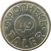 Taler - Apotheke 49 – reverse