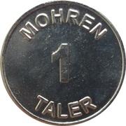 1 Mohren Taler - Mohren Apotheke (Gütersloh) – reverse