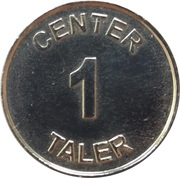 1 Center Taler - Center Apotheke (Gütersloh) – reverse