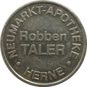 Robben Taler - Neumarkt Apotheke (Herne) – reverse