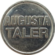 Augusta Taler - Augusta Apotheke (Duisburg) – reverse