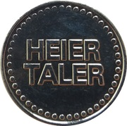 Heier Taler - Markt Apotheke (Marienheide) – reverse