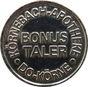 Bonus Taler - Körnebach Apotheke & Zehnthof Apotheke (Dortmund) – obverse