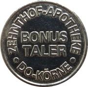 Bonus Taler - Körnebach Apotheke & Zehnthof Apotheke (Dortmund) – reverse