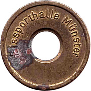 Public Swimming Pool Token - Eissporthalle Munster (youth) – obverse