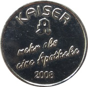 1 Kaiser Taler - Kaiser Apotheke – obverse