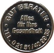Rheinland Taler - Rheinland Apotheke (Rumeln-Kaldenhausen) – obverse