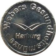 1 Webers Gesundheitsmünze (Harburg) – obverse
