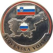 Token - Slovenska vojska – reverse