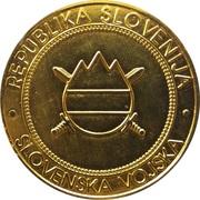 Token - Slovenska vojska – obverse