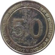50 Taler - Königshof (Stuttgart) – reverse