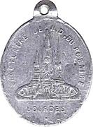 Medal - Notre-Dame-du-Rosaire (Lourdes) – obverse