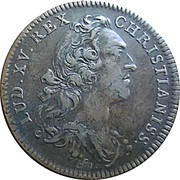 Token - Louis XV (French American colonies) – obverse