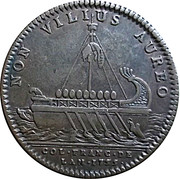 Token - Louis XV (French American colonies) – reverse