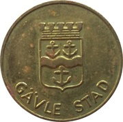 Transport Token - Gävle – obverse