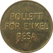 Transport Token - Gävle – reverse