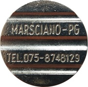 Token - Azzurra Docce (Marsciano) – reverse