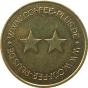 Token - Coffee Plus (Brass) – obverse
