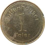 1 Zuffenhauser Taler - EinkaufsZiel Zuffenhausen (Zuffenhausen) – reverse