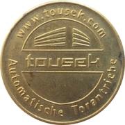 Token - Tousek (Wien) – reverse