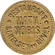 10 Pfennig - Restaurant Math. Nobis (Schelsen am Düvel, Mönchengladbach) – obverse