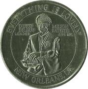 Mardi Gras Token - Duke Dejan (New Orleans, Louisiana) – obverse
