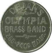Mardi Gras Token - Duke Dejan (New Orleans, Louisiana) – reverse
