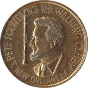 Mardi Gras Token - Pete Fountain (New Orleans, Louisiana) – obverse