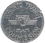 Metro Token - Toronto Transit Commission – reverse