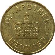 Pharmacy Token - Hof Apotheke (Neuwied) – obverse