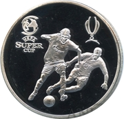 Token - FC Zenit (2008 UEFA Super Cup) – obverse