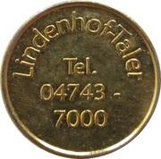 Lindenhof-Taler - Apotheke am Lindenhof (Geestland) – reverse