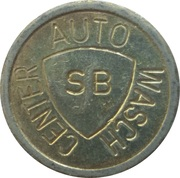 Car Wash Token - Auto Wasch Center (LM) – obverse