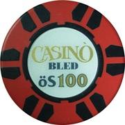 100 Schilling - Casino Bled (Bled) – obverse