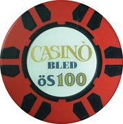 100 Schilling - Casino Bled (Bled) – reverse