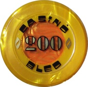 200 - Casino Bled (Bled) – reverse
