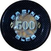500 - Casino Bled (Bled) – reverse